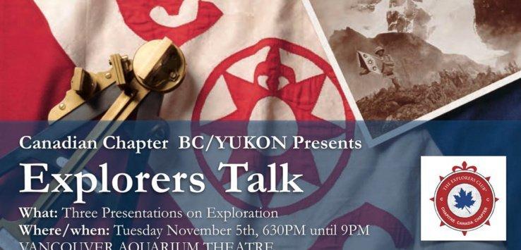 Explorers Talk Exlorers Club