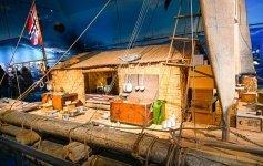 Living accomodations aboard Kon Tiki were small Jett Britnell